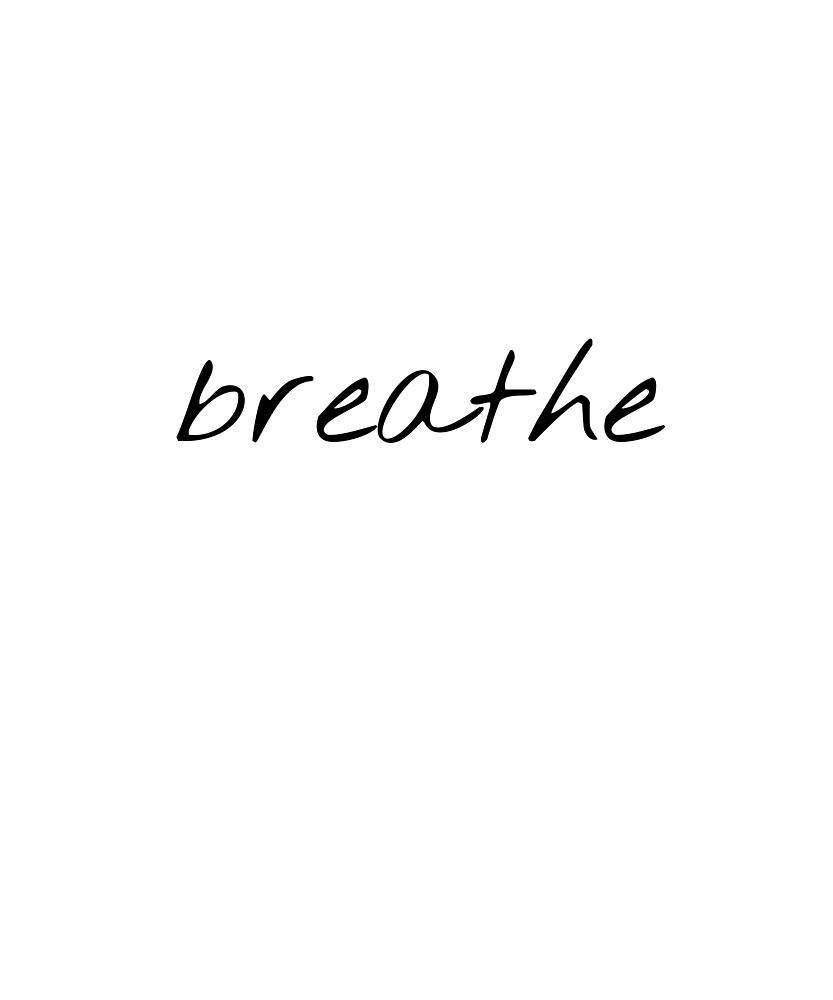 Chill Breathe Meditation Reminder by RedBear7
