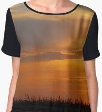 Cornfield Sunset Women's Chiffon Top