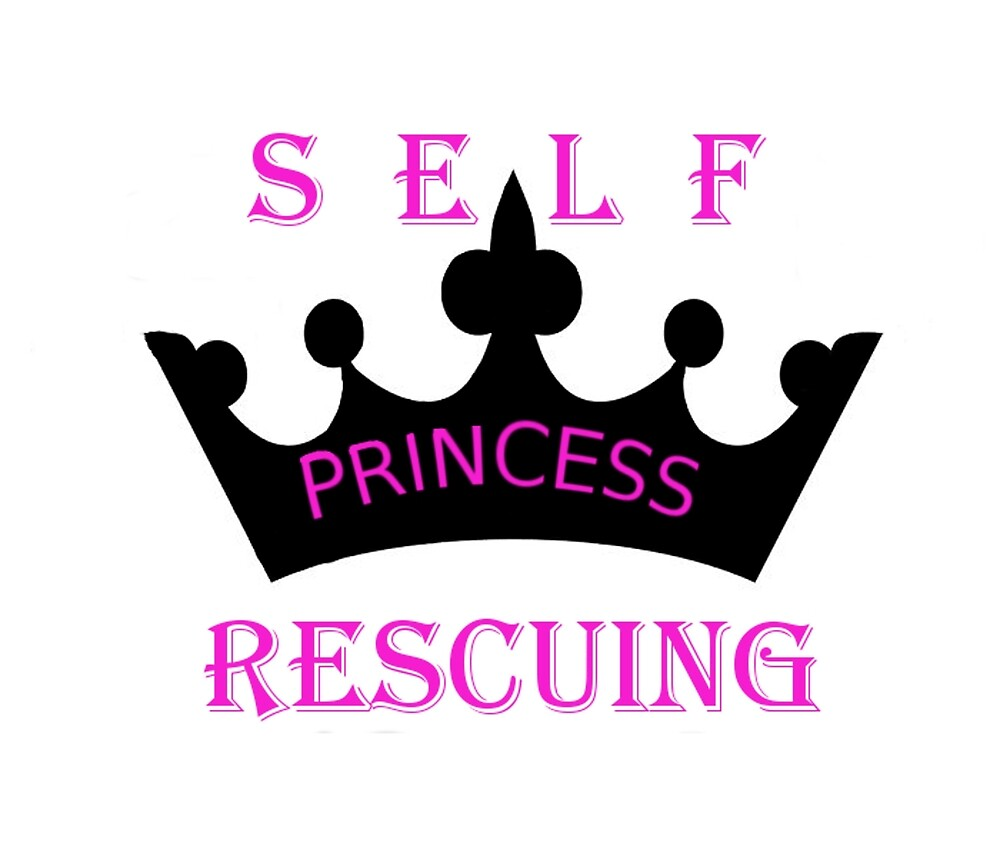 Self Rescuing Princess by ostrichbaby
