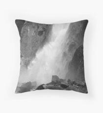 Power of Lower Yosemite Fall Throw Pillow