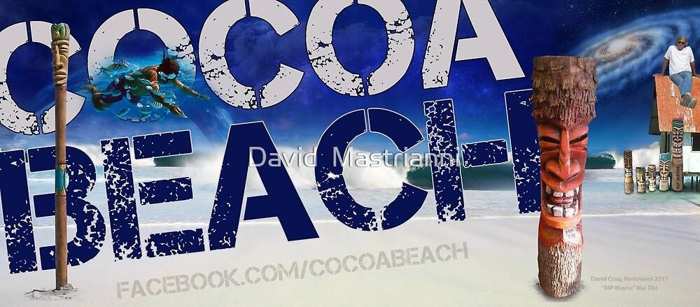 "Cocoa Beach. ""RIP Wayne"" Mai Tiki.  by David  Mastrianni"