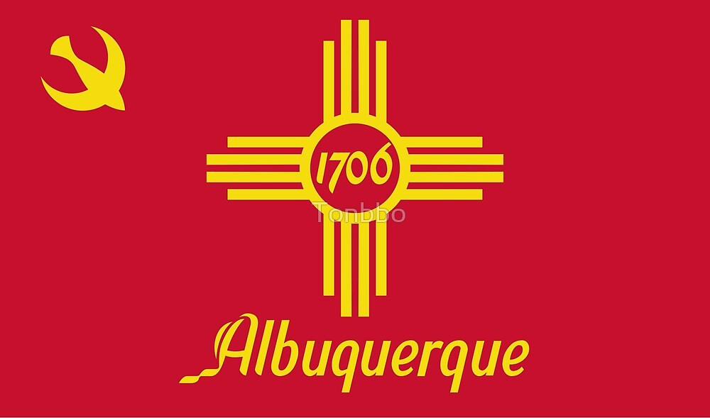 Flag of Albuquerque, New Mexico by Tonbbo