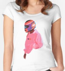 Frank Nascar  Women's Fitted Scoop T-Shirt