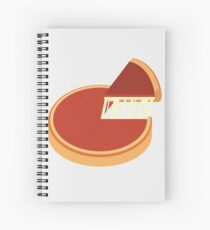 Chicago Deep Dish Pizza Spiral Notebook