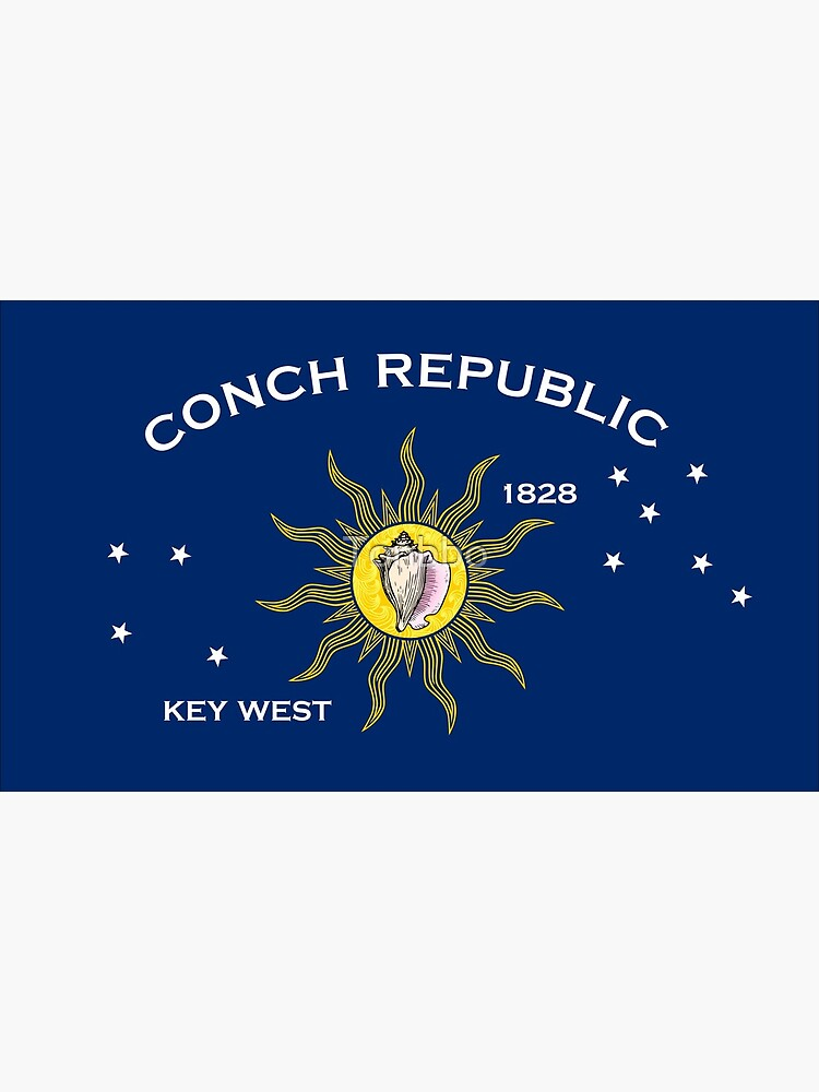 Flag of the Conch Republic (Key West, Florida) by Tonbbo