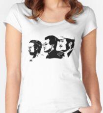 JAWS Tailliertes Rundhals-Shirt