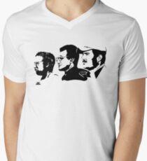 JAWS Men's V-Neck T-Shirt