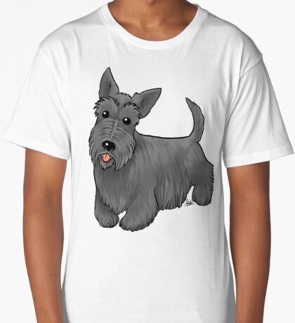 Scottish Terrier Long T-Shirt