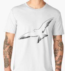 Arctic Terna in the skies | Minimalist Vector Men's Premium T-Shirt