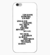The Vampire Diaries iPhone Case