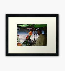 Shaheed Nadir's Pathan Space Truck Breaks Orbit Framed Print