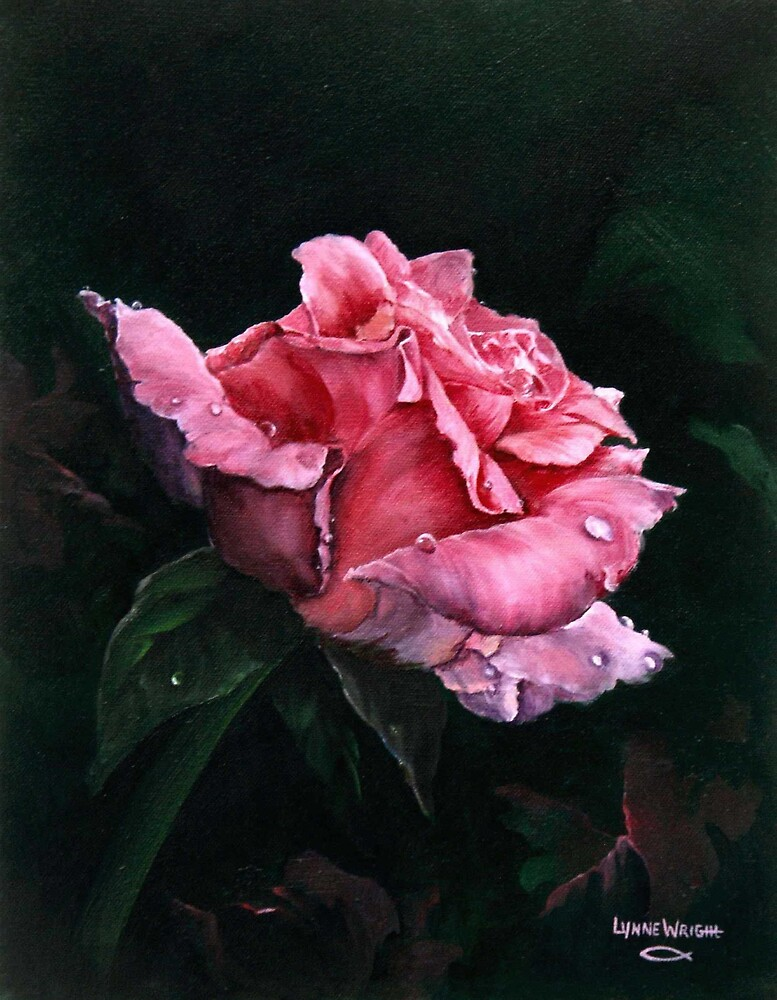 Michele's Rose by Lynne Wright