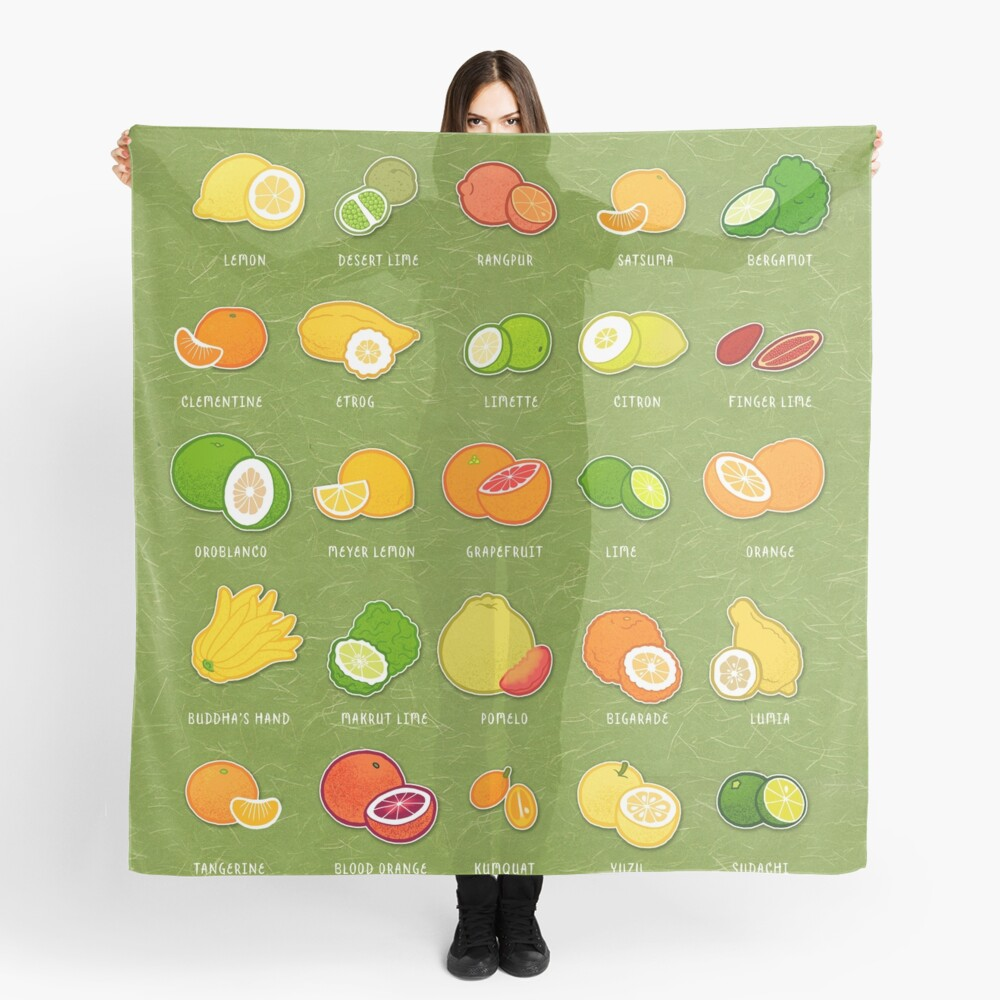 Seriously Citrus Scarf