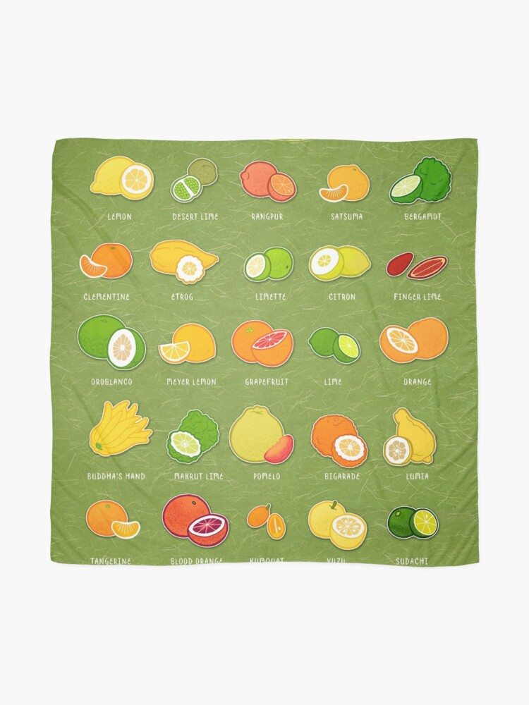 Alternate view of Seriously Citrus Scarf