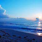 Tranquility Beach by Franklin Lindsey