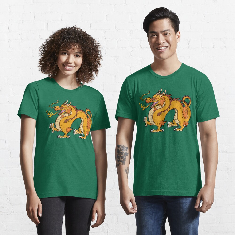 Chinese Dragon - Gold Essential T-Shirt