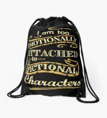 Mochila saco Estoy demasiado apegado emocionalmente a los personajes de ficción