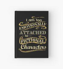 Ich bin zu emotional an fiktionale Charaktere gebunden Notizbuch