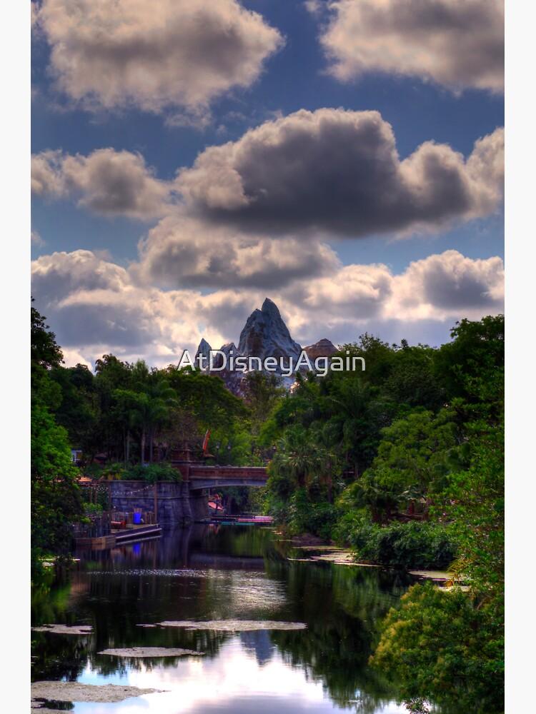 Cloudy Everest by AtDisneyAgain