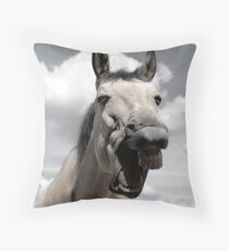 have a laugh, it's the weekend Throw Pillow