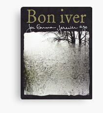 Bon Iver - For Emma Forever Ago Canvas Print