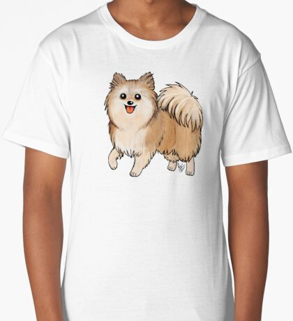 Pomeranian Long T-Shirt