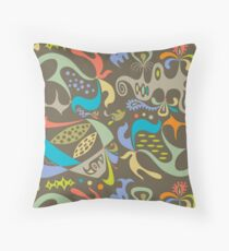 ethics putty Throw Pillow
