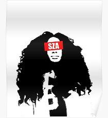 SZA Poster