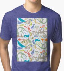 ethics white Tri-blend T-Shirt