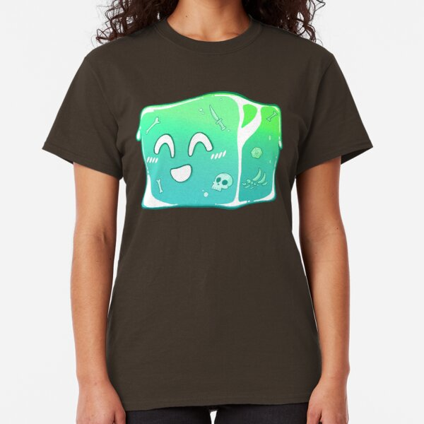 Giggly Gelatinous Cube  - Cute D&D Adventures Classic T-Shirt