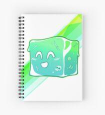 Giggly Gelatinous Cube  - Cute D&D Adventures Spiral Notebook