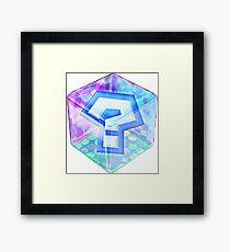MarioKart Item Box Framed Print