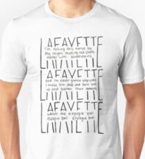 Camiseta ajustada LAFAYETTE - Guns & Ships letra en español