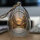 Captured In Glass - Newcastle Central Arcade by Mark A Hunter