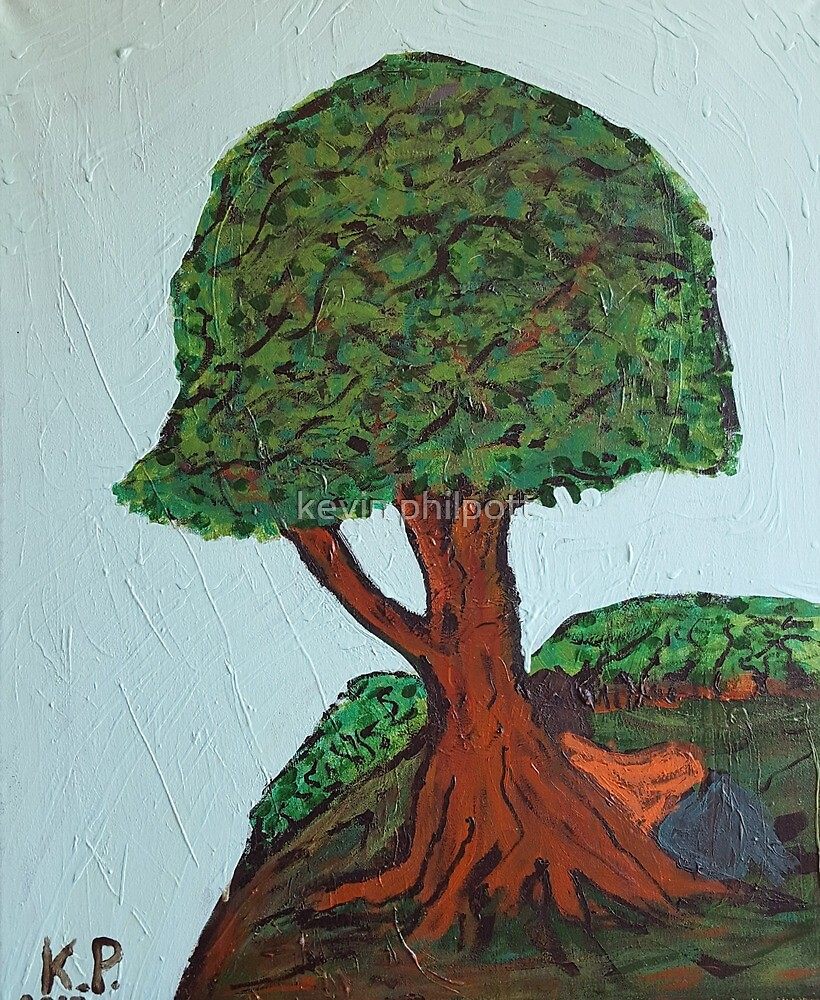 Resting tree by kevin philpott
