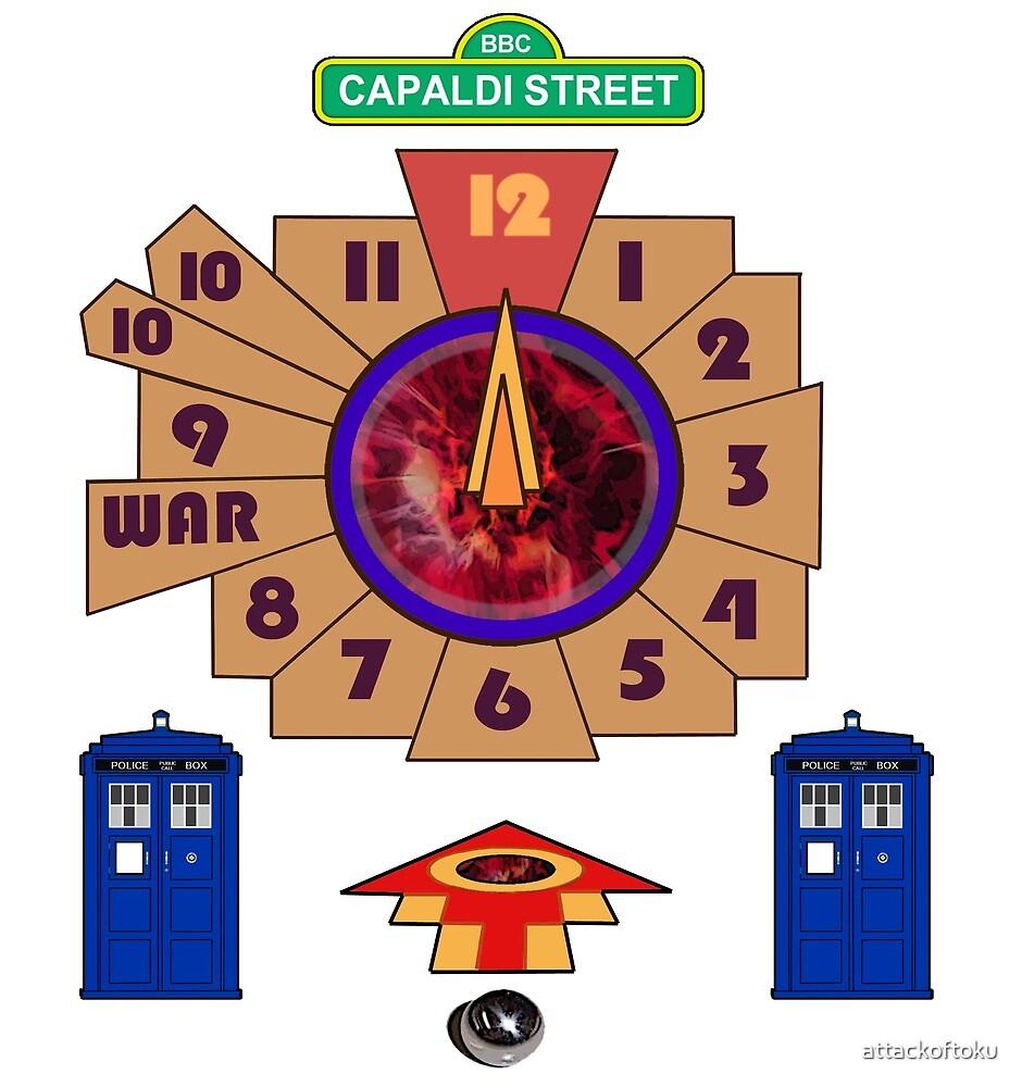 Capaldi Street by attackoftoku