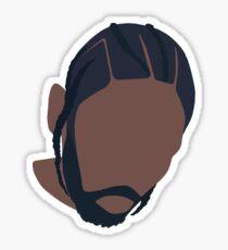 Kendrick Lamar DAMN. Vector Album Art Sticker