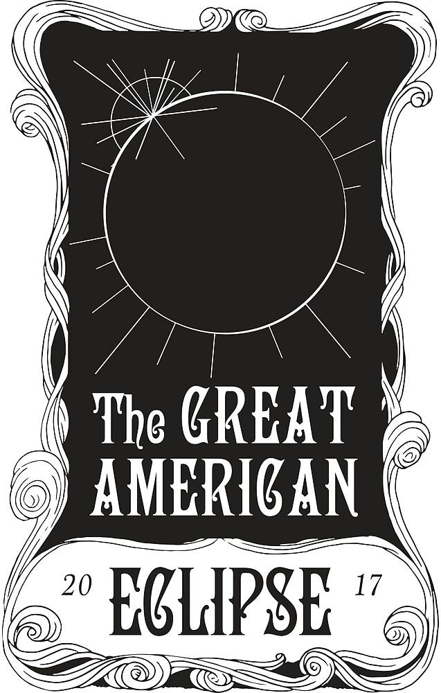 Great American Eclipse: Mucha by Vigilanteye