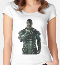 Doctor Who Ice Warrior Women's Fitted Scoop T-Shirt