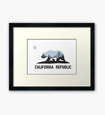 Lámina enmarcada California