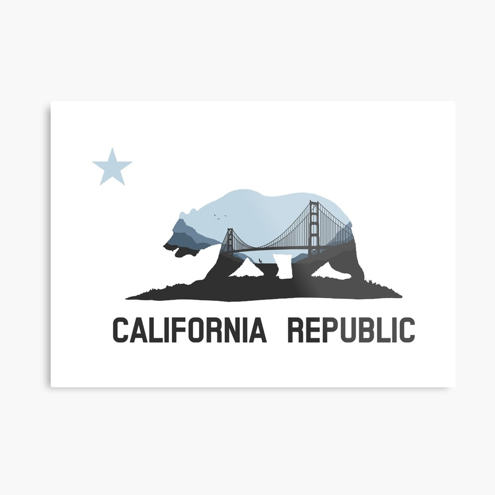 Kalifornien Metallbild