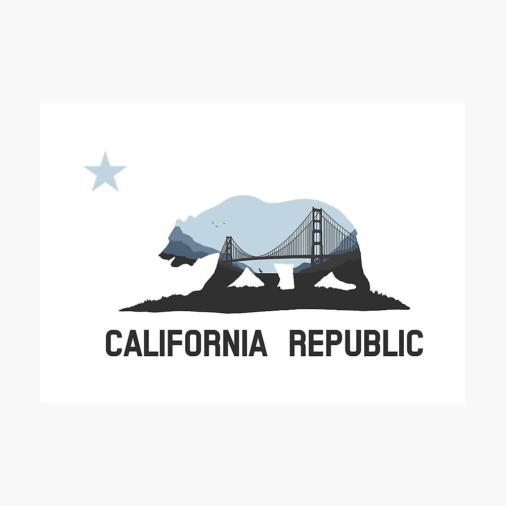 Kalifornien Fotodruck