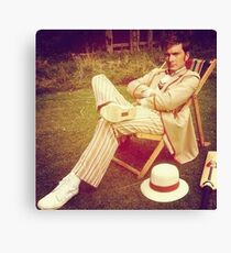 David Tennant as Fifth Doctor Canvas Print