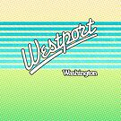 Westport, Washington | Surf Stripes by retroready