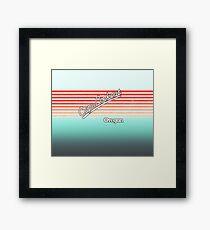 Cape Lookout, Oregon | Surf Stripes Framed Print