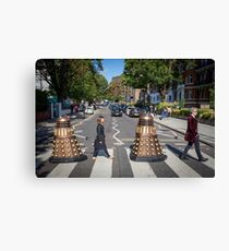 Doctor Who 12th Doctor Abbey Road Canvas Print