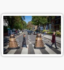 Doctor Who 12th Doctor Abbey Road Sticker