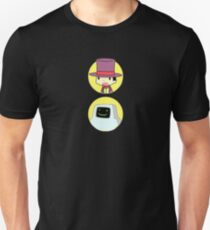 SuperJail Warden And JailBot T-Shirt