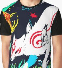 Kami of the Rising Sun  Graphic T-Shirt