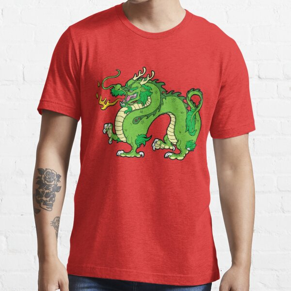 Chinese Dragon - Green Essential T-Shirt